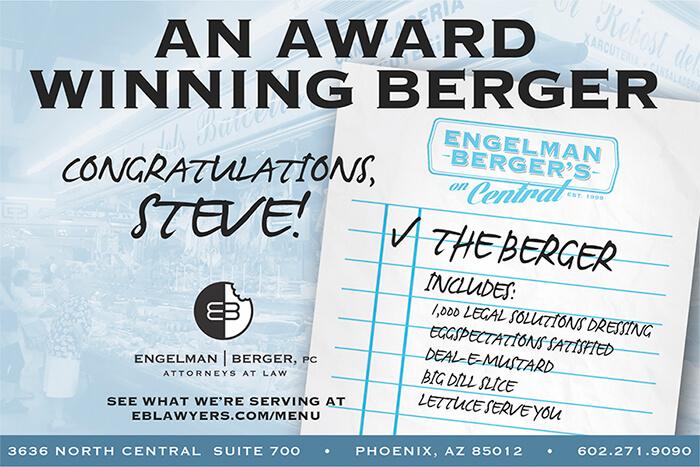 Steve Berger Award Engelman Berger
