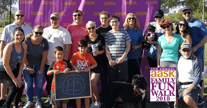 AASK Family Fun Walk 2018 Engelman Berger