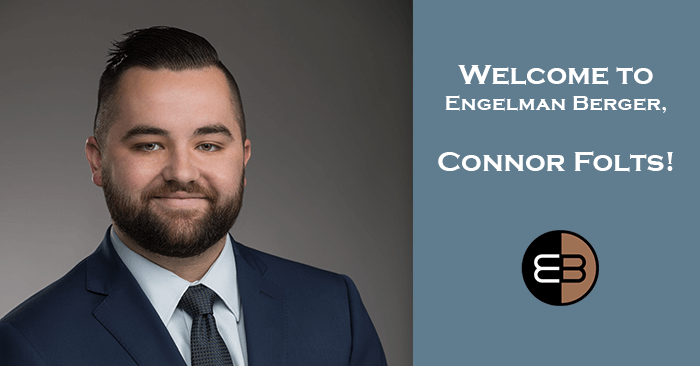 Connor Folts New Hire at Engelman Berger