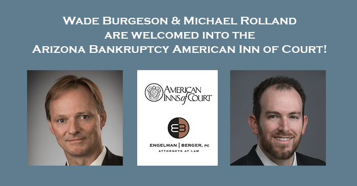 Arizona Bankruptcy American Inn Wade Burgeson and Michael Rolland