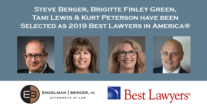 Steve Berger Brigitte Green Tami Lewis Selected Best Lawyers in America
