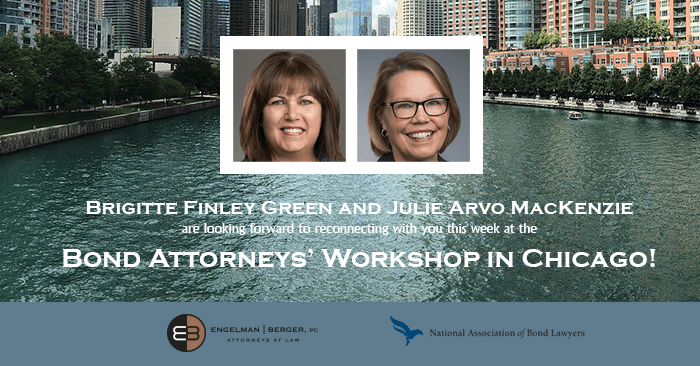 Attorneys Workshop Brigitte Green and Julie MacKenzie