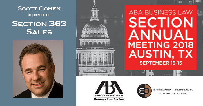 ABA Business Law Presentation by Scott Cohen