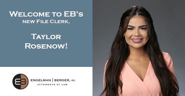 File Clerk Taylor Rosenow Engelman Berger