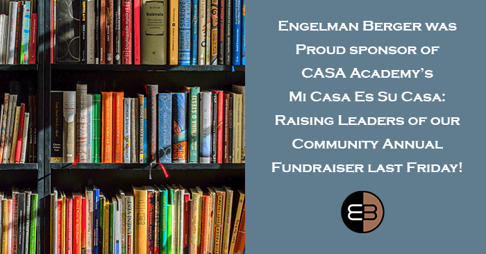 Engelman Berger Sponsored Fundraiser