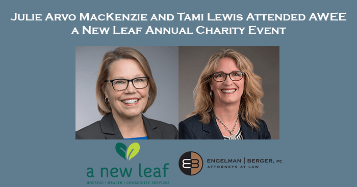 Julie MacKenzie and Tami Lewis Charity Event