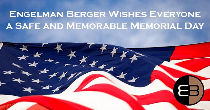 Memorial Day Banner Engelman Berger