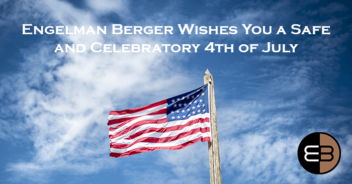 4th of July Banner Engelman Berger