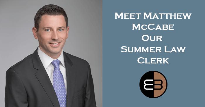 Law Clerk Matthew McCabe