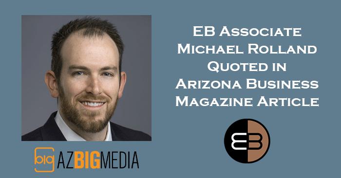 Michael Rolland Arizona Business Magazine Article