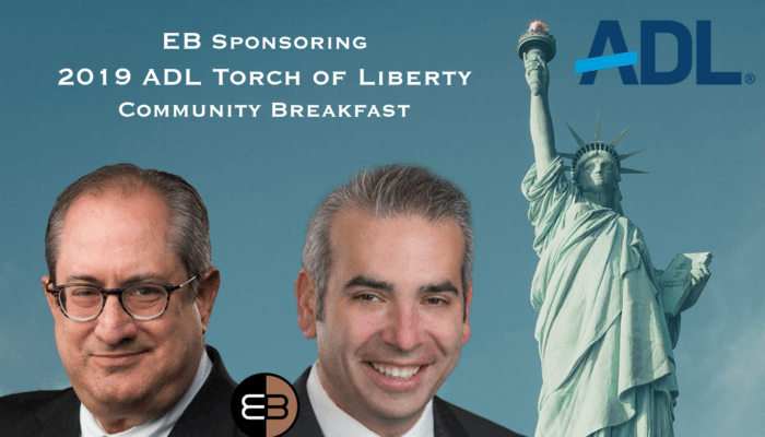 ADL Torch of Liberty Community Breakfast Engelman Berger