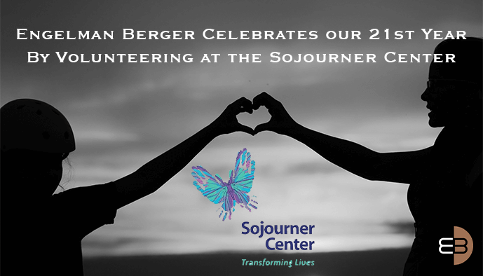 Engelman Berger 21st Year Volunteering at Sojourner Center